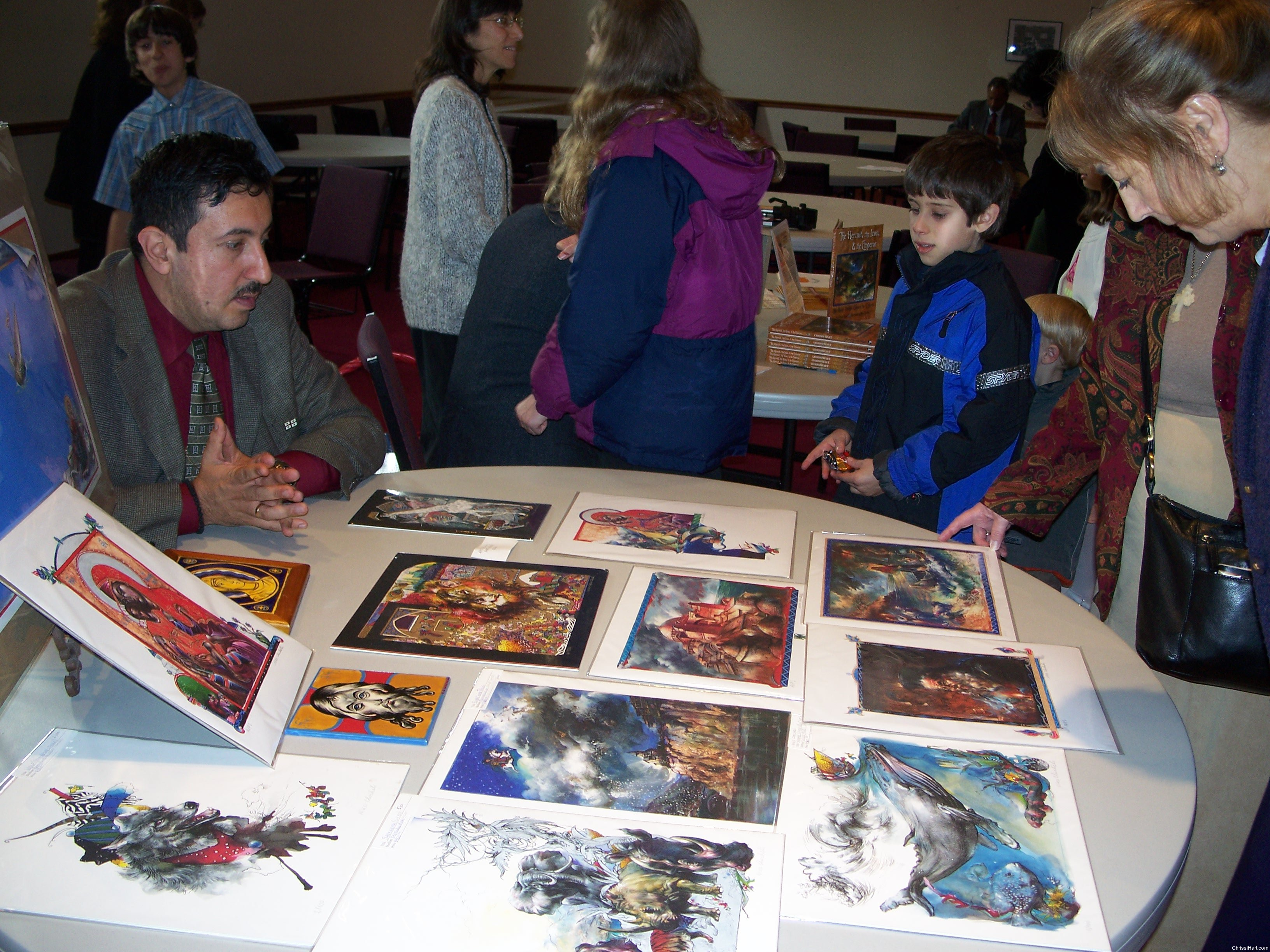 looking at limited edition prints