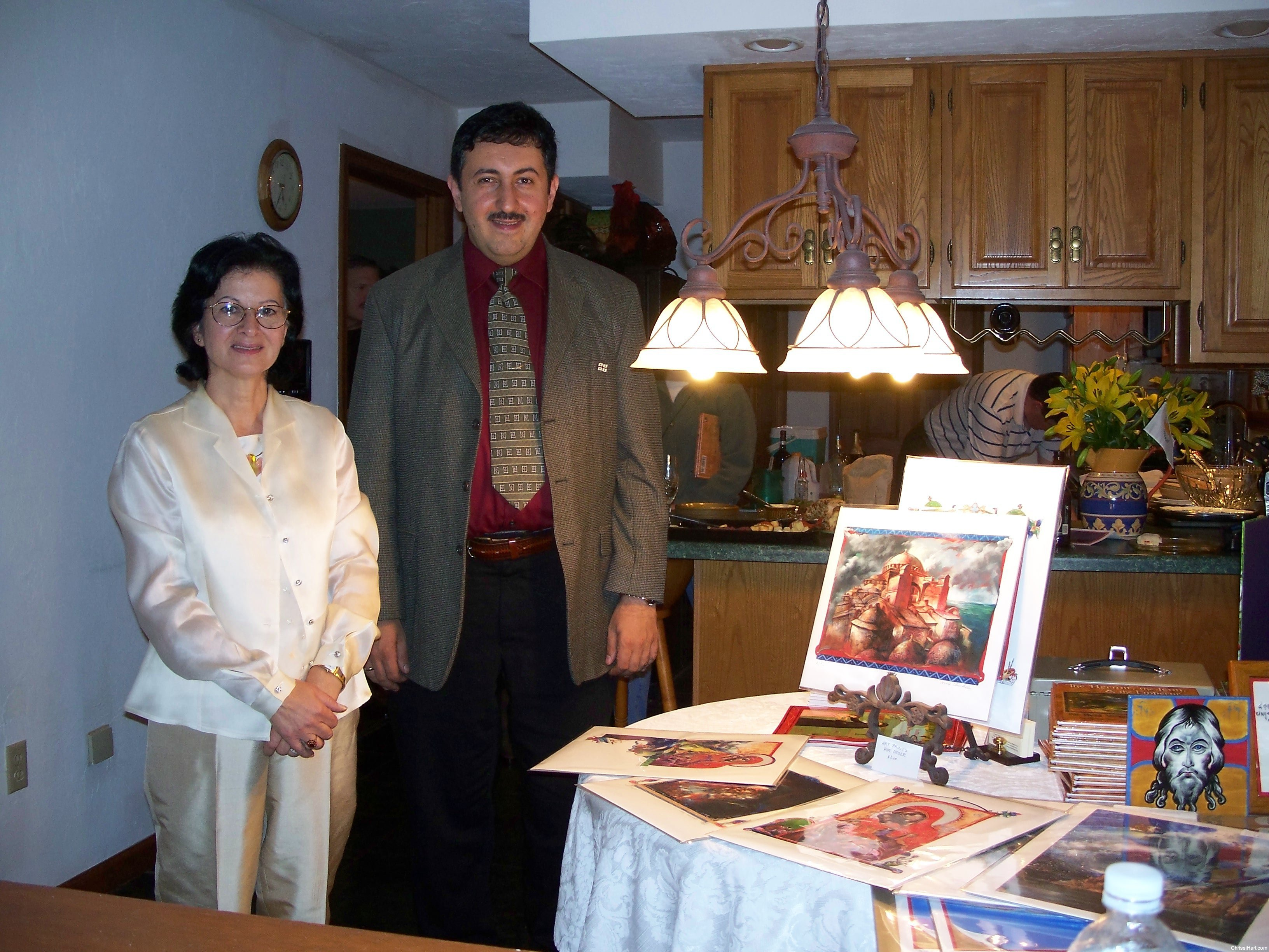 Author, Chrissi Hart and illustrator, Niko Chocheli