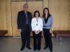 Ambassador of Cyprus, Andreas Kakouris, Chrissi and Demetra, Second Secretary, Consul