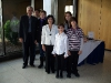 Chrissi with Cyprus Ambassador,  Demetra, Chrysostomos and children