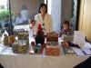 at book signing table