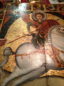 Saint George on horse kAMBI