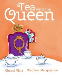 Cover for Tea with the Queen