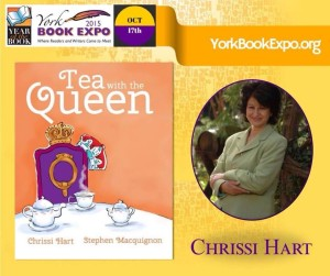 York Book Expo Tea with the Queen